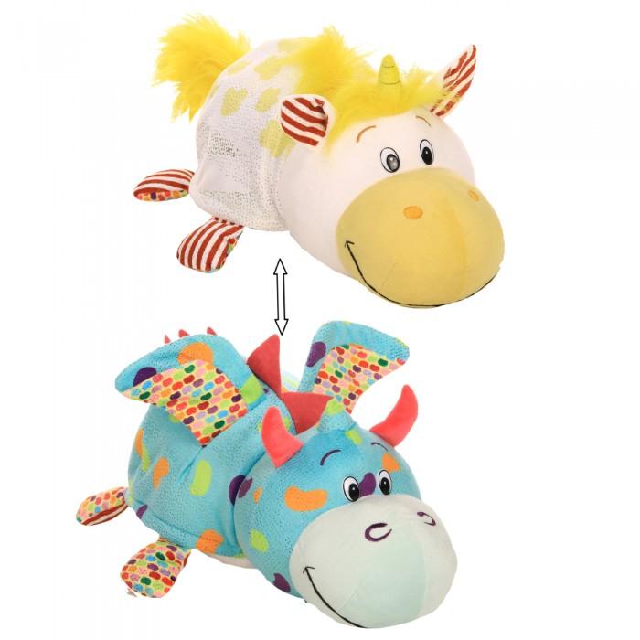 Купить Мягкие игрушки, Мягкая игрушка 1 Toy Единорог-Дракончик Вывернушка ням-ням 35 см