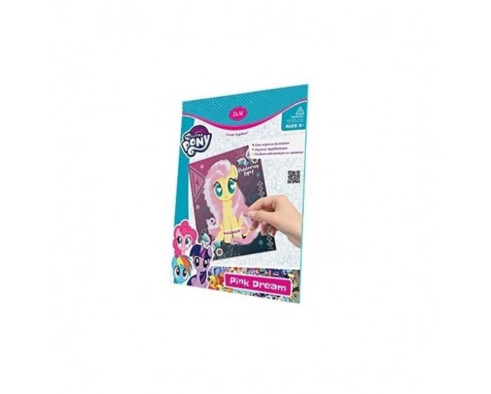 цена на Картины своими руками DochaMama Набор для декорирования Розовые мечты с органзой