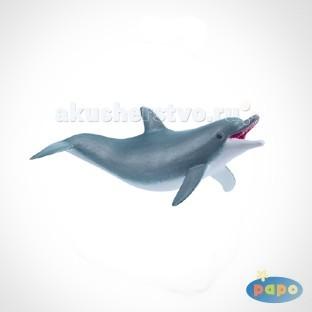 Игровые фигурки Papo Игровая реалистичная фигурка Играющий дельфин игровые фигурки papo игровая реалистичная фигурка цератозавр