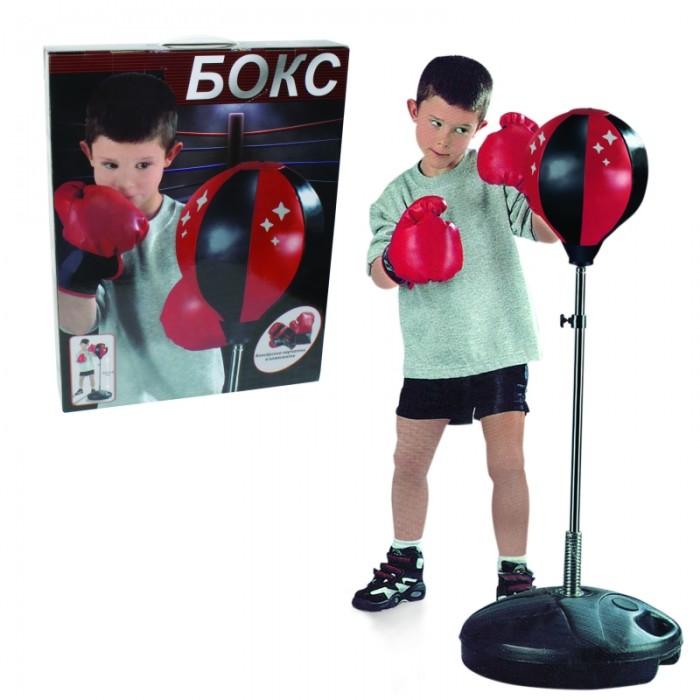1 Toy Набор для бокса груша база 32 см стойка 80-100 см
