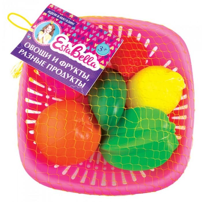 Фото - Ролевые игры EstaBella Набор Овощи и фрукты с манго ролевые игры гринпласт набор овощи и фрукты 6 шт