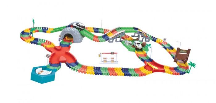 Фото - Машины 1 Toy Гибкий трек Большое путешествие 249 деталей машины 1 toy гибкий трек мегаполис 239 деталей