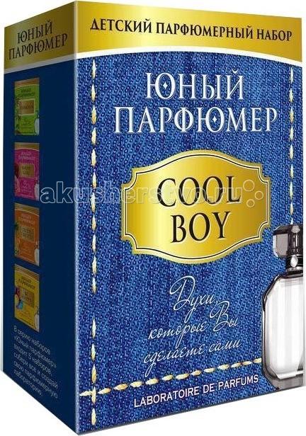 Наборы для творчества Каррас Юный Парфюмер Cool Boy каррас каррас набор юный парфюмер цветочные ароматы