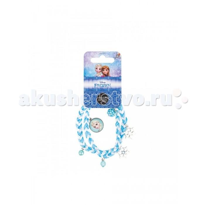 Аксессуары Daisy Design Плетеный браслет Очаровательные снежинки Холодное сердце