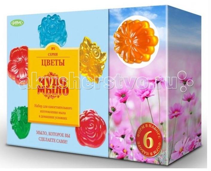 Наборы для творчества Каррас Набор для создания Чудо-мыло Цветы луч набор для изготовление мыла цветы