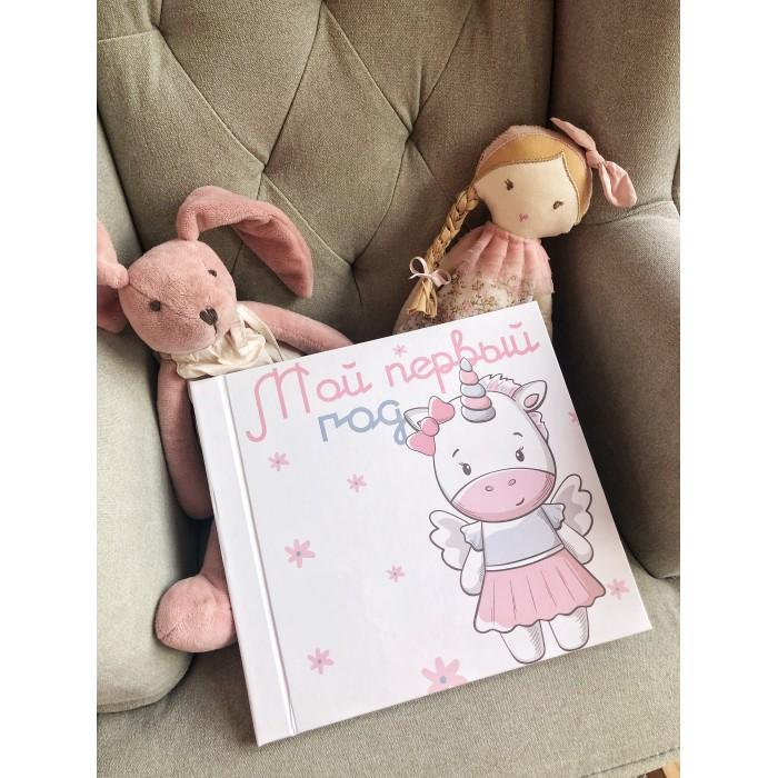 Купить Фотоальбомы и рамки, Mimishka kids Фотоальбом Мой первый год Единорожка