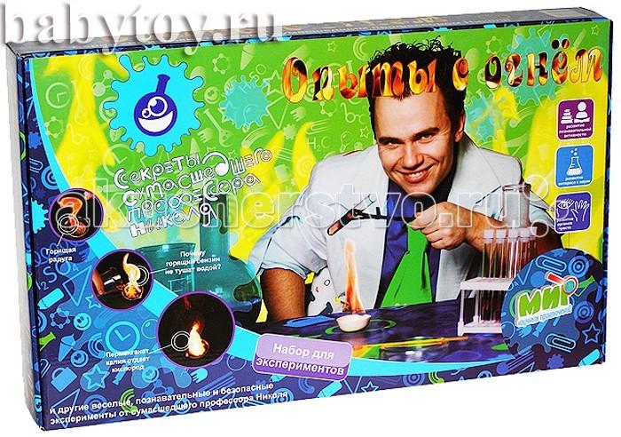 Творчество и хобби , Наборы для творчества Мир научных приключений Юный химик Опыты с огнем арт: 64283 -  Наборы для творчества
