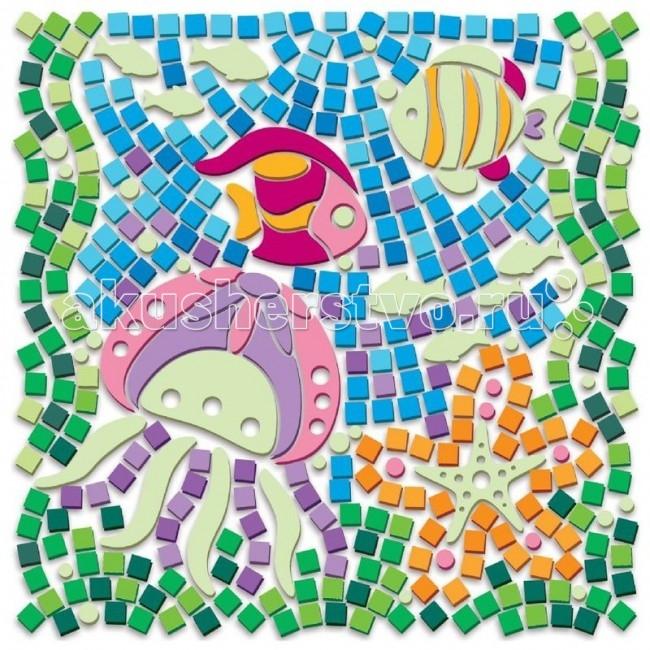 Мозаика 4М Набор Светящийся Подводное Царство элементы интерьера