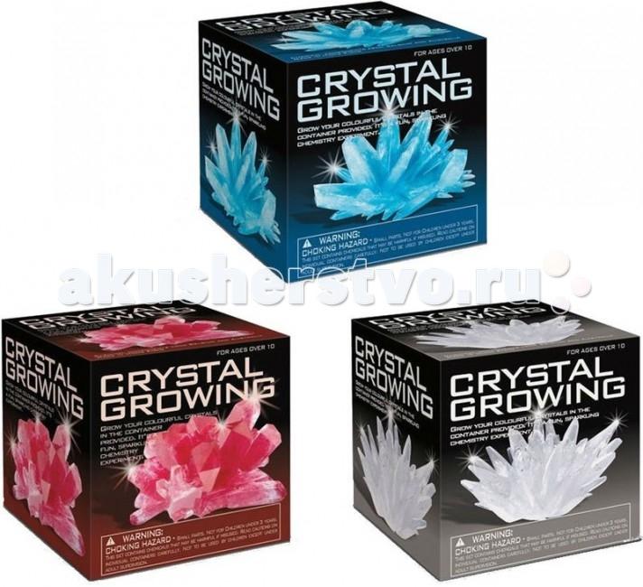 Наборы для выращивания 4М Удивительные кристаллы Мультицвет 4m удивительные кристаллы мультицвет 4м