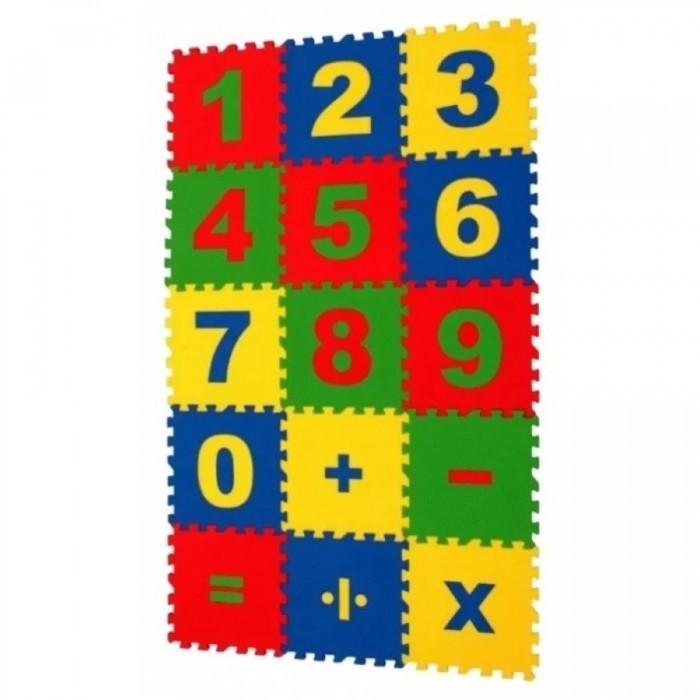 Игровые коврики Экопромторг Математика 25х25 см игровые коврики funkids пазл симпл 6 без изображений