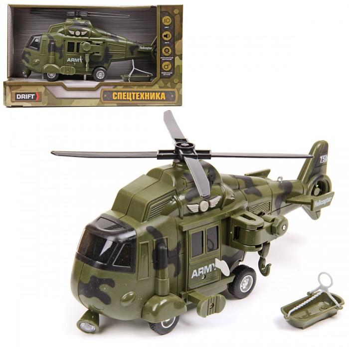 Вертолеты и самолеты Drift Вертолет Military Army Helicopter 1:16 со светом звуком