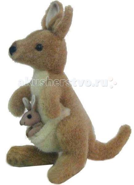 Мягкие игрушки Hansa Кенгуру 20 см интерактивные игрушки hansa верблюд 110 см