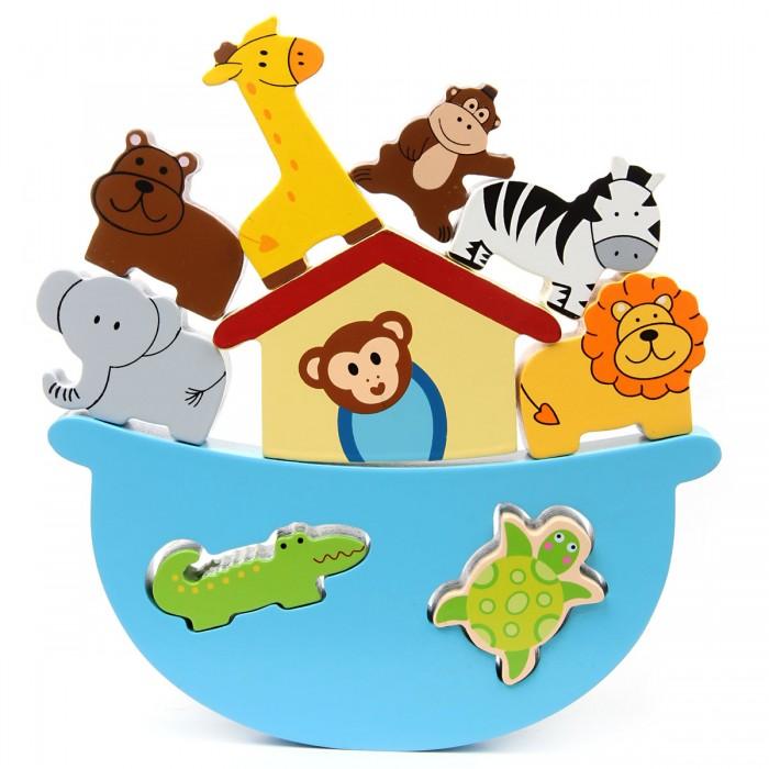 Деревянные игрушки Фабрика фантазий Баланс Зоопарк