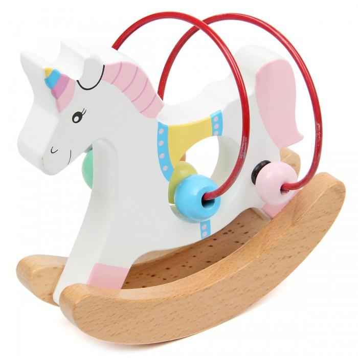 Деревянная игрушка Фабрика фантазий Лабиринт-качалка Единорог