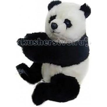 Мягкие игрушки Hansa Панда сидящая 25 см мягкие игрушки hansa обезьянка сидящая палевая 20 см