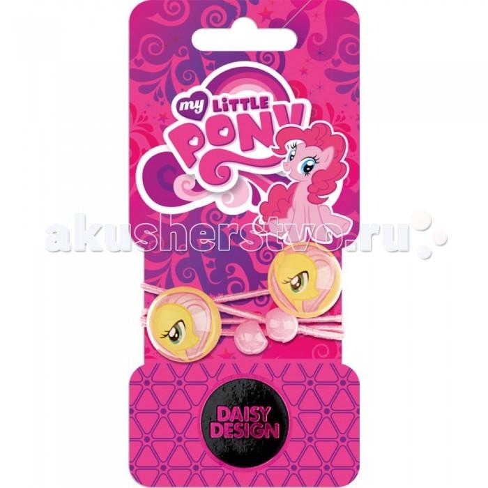Аксессуары Daisy Design Набор резинок для волос My Little Pony Флатершай 2 шт. daisy design браслет daisy design my little pony sweet pony
