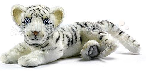 Мягкие игрушки Hansa Белый тигренок лежащий 26 см игрушки
