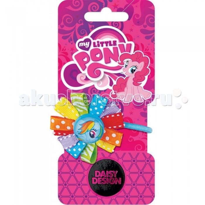Аксессуары Daisy Design Резинка для волос My Little Pony Розетка Радуга Дэш daisy design браслет daisy design my little pony sweet pony