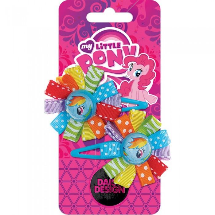 Аксессуары Daisy Design Набор заколок My Little Pony Розетка Радуга Дэш 2 шт. daisy design браслет daisy design my little pony sweet pony