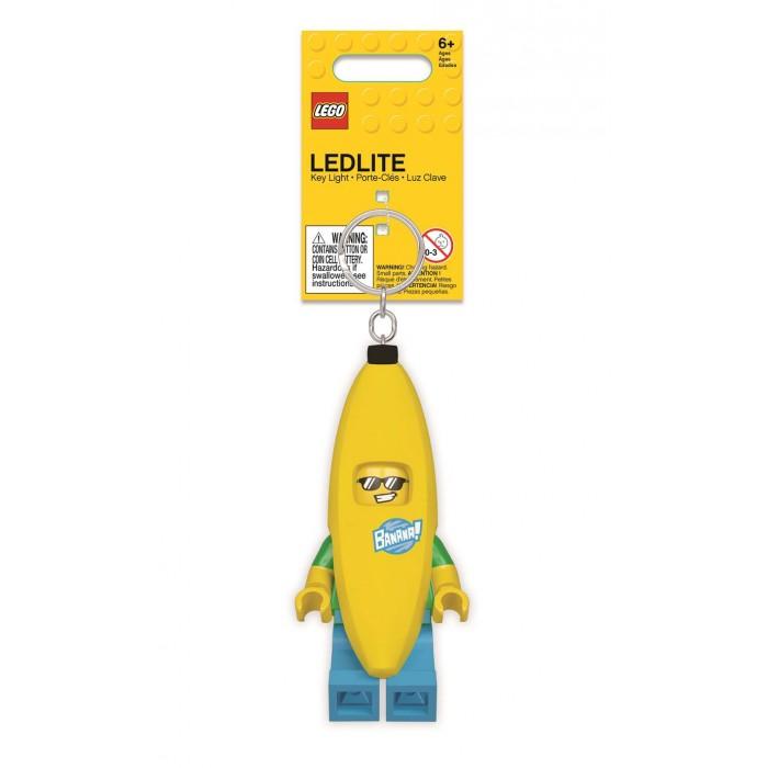 Конструктор Lego Брелок-фонарик для ключей Banana Guy - Человек-банан фото