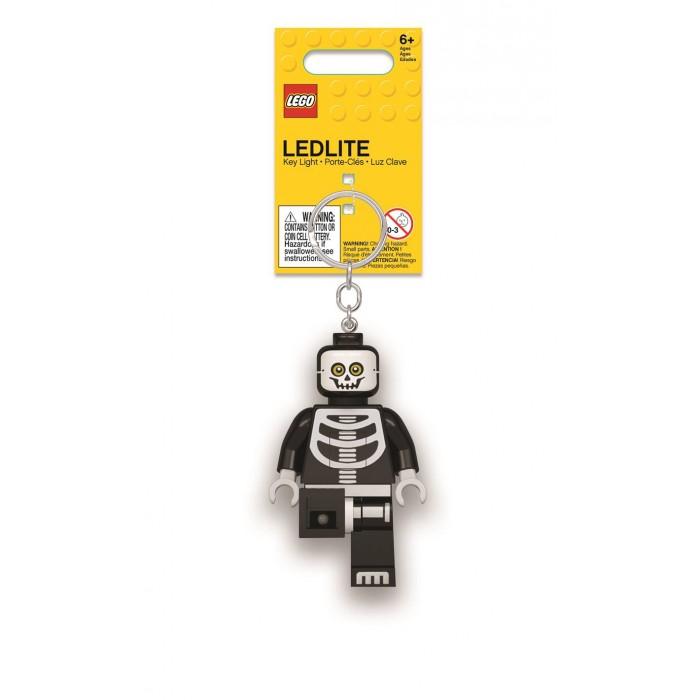 Конструктор Lego Брелок-фонарик для ключей Skeleton