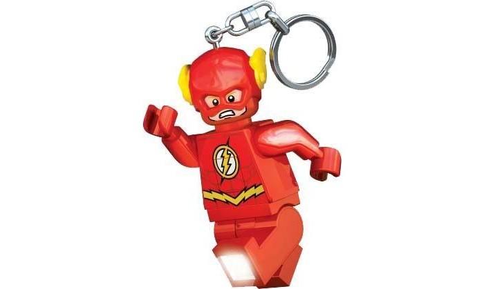 Lego Брелок-фонарик для ключей Super Heroes - Flash