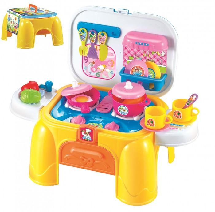 1 Toy Игровой набор в чемоданчике Профи Хозяюшка 2 в 1