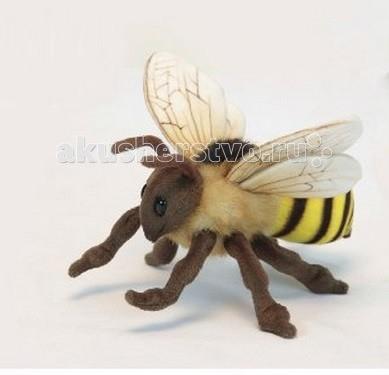 Мягкая игрушка Hansa Пчелка 22 смПчелка 22 смМягкая игрушка Hansa Пчелка 22 см - это очаровательная игрушка, которая максимально точно копирует оригинал. Она изготовлена из высококачественных материалов.  Игрушки Hansa изготовлены из искусственного меха очень приятного на ощупь, внутри имеют титановый каркас. Наличие каркаса позволяет изменять положение лап и туловища, а также поворачивать голову. Игрушки полностью копируют оригинал и могут быть выполнены в натуральную величину. На крупно габаритных игрушках ослик, лошадка и проч., размером от 1 м можно сидеть верхом.  Благодаря прочному каркасу, они выдерживают вес до 65-70 кг.  Компания Hansa была основана в 1972 году на Филиппинах мистером Хансом Акстельмом и в прошлом году отметила свой 40 летний юбилей. 7 мировых обществ охраны природы признали мягкие игрушки фирмы Hansa самыми натуралистичными моделями животных.  Мягкие игрушки Hansa: абсолютно реалистичные жирафы, слоны, коалы и медведи, изготовленные из экологически чистых материалов, сертифицированные как детские игрушки, могут так же стать великолепным украшением любого интерьера – от оформления комнаты до торгового зала, офиса, ресторана, шоу-программы или праздничной вечеринки.  Игрушки Hansa идеальны для модных интерьеров в африканском или японском стиле. Благодаря своей реалистичности игрушки Hansa имеют огромное природоохранное значение - они позволяют любоваться дикими животными, сохраняя им жизнь. Отдельная линия анимированных декоративных композиций дает возможность создавать эффектные экспозиции для выставок, презентаций, витрин и проч. Мягкие анимированные игрушки нередко делаются на заказ, для конкретных интерьеров и событий. В ассортименте Hansa игрушки более 3000 наименований: от райских птичек и мышей 5 см до слонов и жирафов 4.5 м.<br>