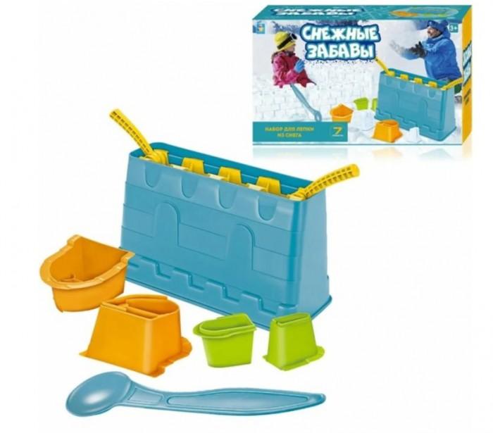 1 Toy Набор для лепки замков из снега (7 предметов)