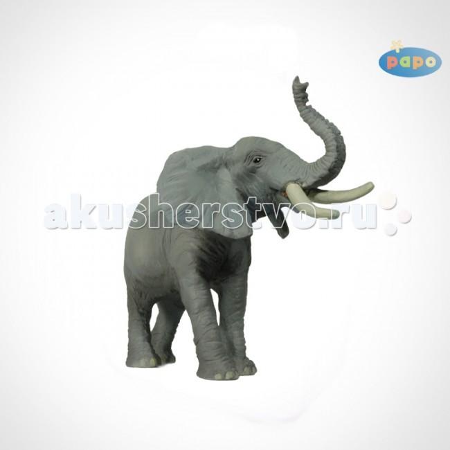 Игровые фигурки Papo Игровая реалистичная фигурка Трубящий слон
