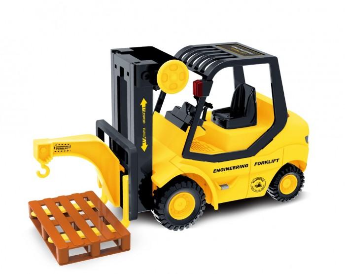 Drift Спецтехника Forklift Truck 1:14 со звуком и светом фрикционный