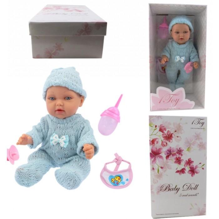 Куклы и одежда для кукол 1 Toy Пупсик функциональный Baby Doll Т14114 28 см