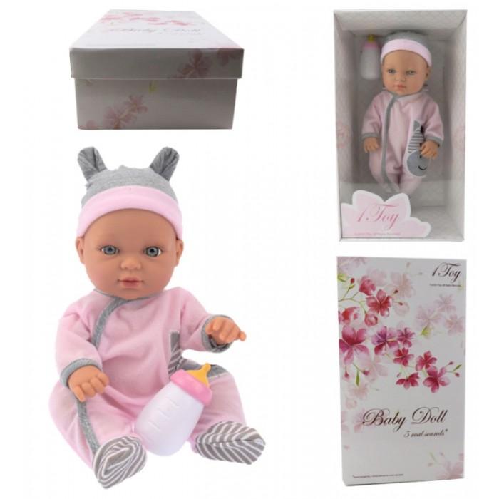 1 Toy Пупсик функциональный Baby Doll Т14115 33 см