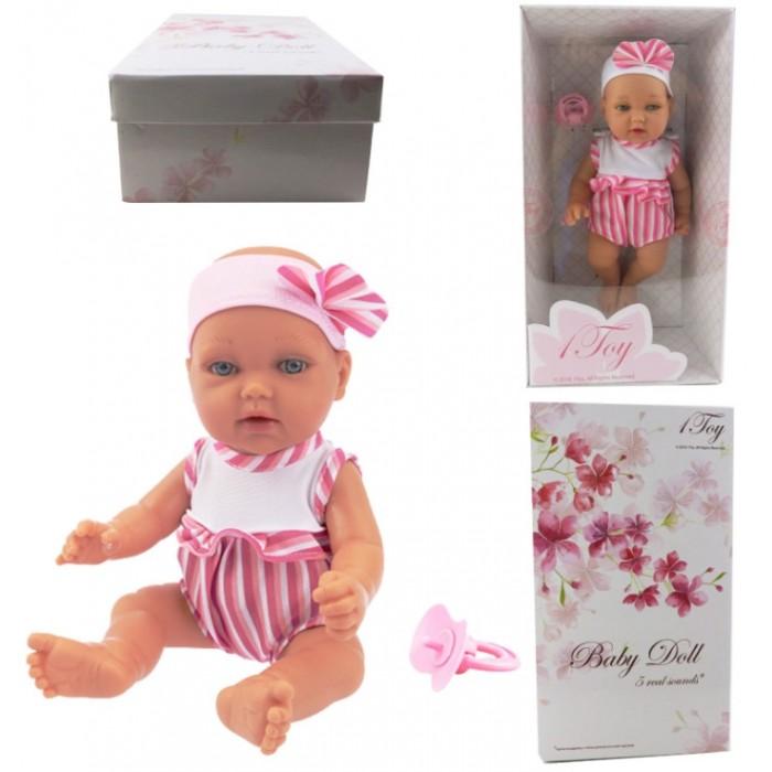 1 Toy Пупсик функциональный Baby Doll Т14112 28 см