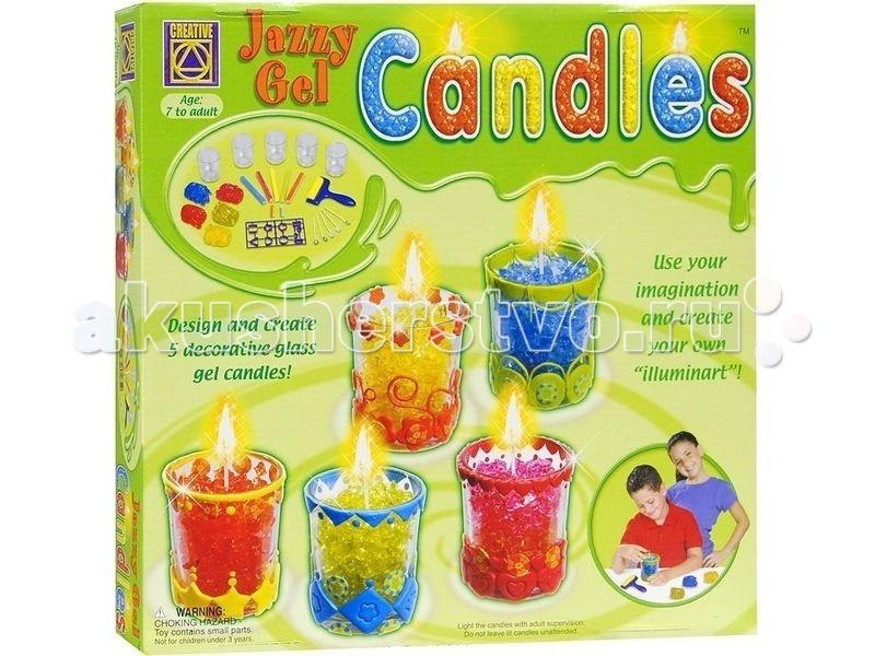 Наборы для творчества Creative Набор для творчества Гелевые свечи набор для творчества creative кондитерская