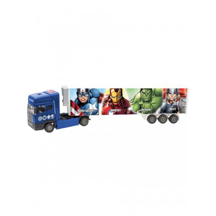 Машины Autogrand Автомобиль Avengers Marvel (Мстители) Тягач с полуприцепом 1:48