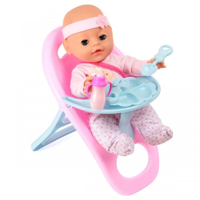 Lisa Jane Кукла-Пупсик в ползунках со стульчиком для кормления 35 см от Lisa Jane