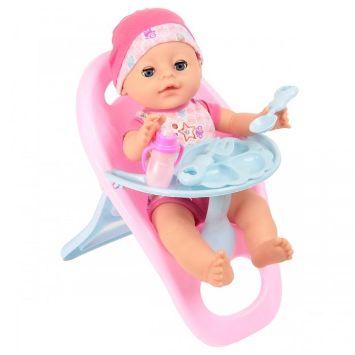 Lisa Jane Кукла-Пупсик в одежде со стульчиком для кормления 35 см
