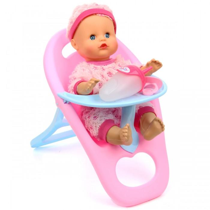 Lisa Jane Кукла-Пупсик в стульчике для кормления озвучен 33 см 72365