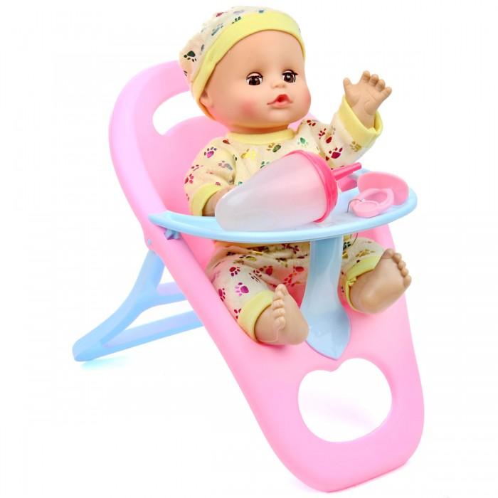 Lisa Jane Кукла-Пупсик в стульчике для кормления озвучен 33 см 72366