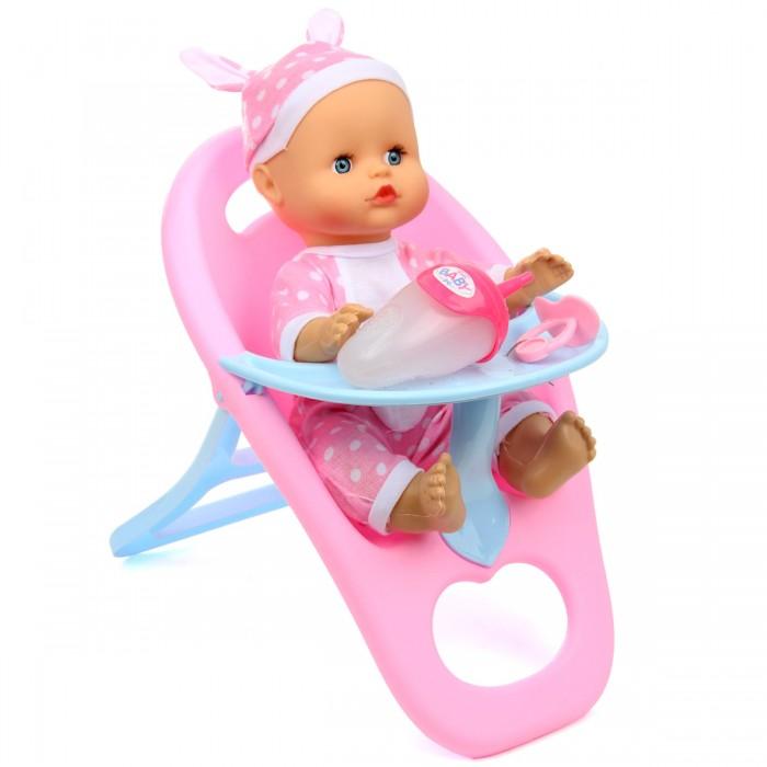 Lisa Jane Кукла-Пупсик в стульчике для кормления озвучен 33 см 72367