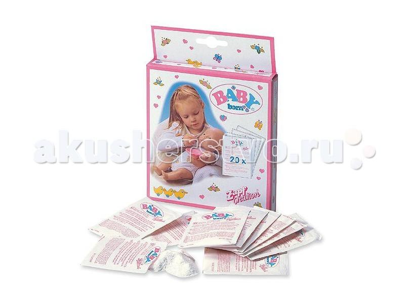 Куклы и одежда для кукол Zapf Creation Baby born Детское питание 12 пакетиков куклы и одежда для кукол zapf creation baby born кукла мальчик 43 см