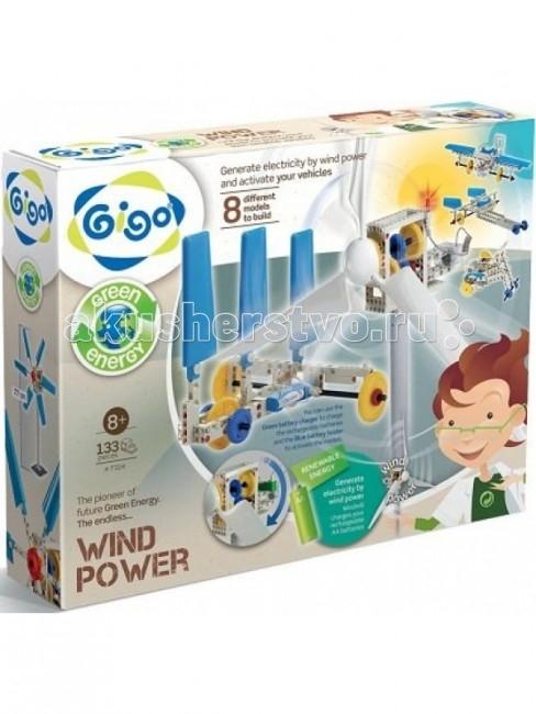 Конструктор Gigo Энергия ветра (133 детали)