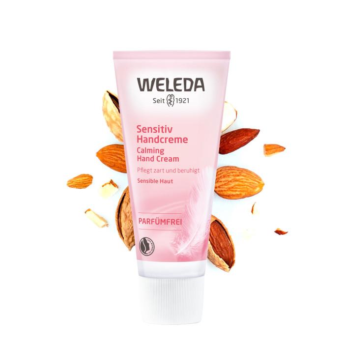 Косметика для мамы Weleda Деликатный крем для рук 50 мл косметика для мамы weleda масло для волос 50 мл