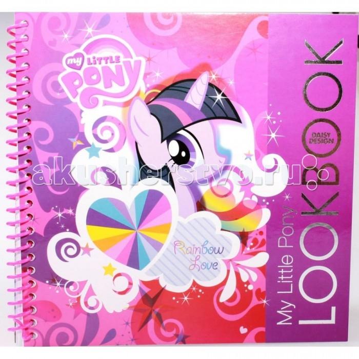 Раскраски Daisy Design Набор для творчества My Little Pony альбом с наклейками