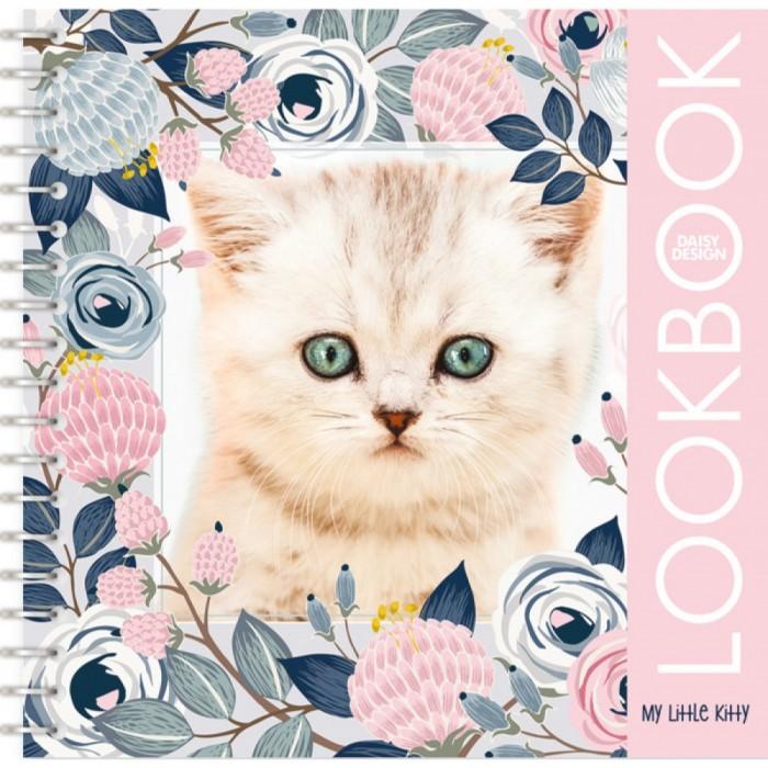 Раскраски Daisy Design Альбом для творчества My Little Kitten альбом с наклейками