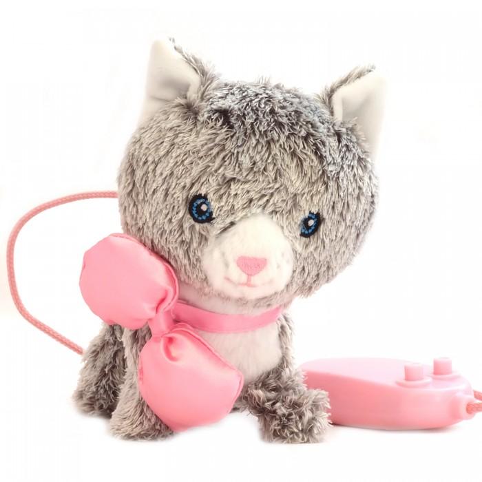 Купить Электронные игрушки, Shokid Котенок интерактивный Moustache 15 см