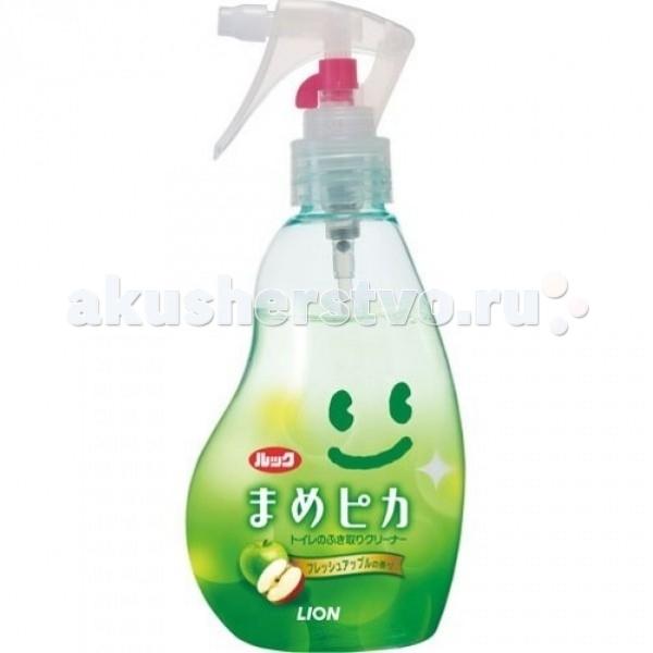Бытовая химия Lion Чистящее средство для туалета Look с ароматом яблока 210 мл чистящее средство для плит и печей lion look 400 мл