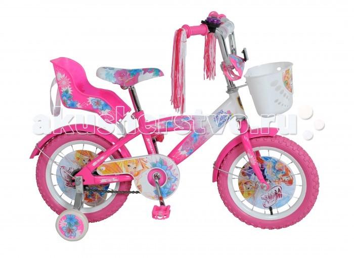 Велосипед двухколесный Navigator Winx 14 T1Winx 14 T1Велосипед Navigator Winx 14 T1 - это хорошо собранный и надёжный велосипед для ребёнка.   Особенности: Тип: детский Материал рамы: сталь Амортизация: отсутствует Конструкция вилки: жесткая Конструкция рулевой колонки: неинтегрированная, резьбовая Диаметр колес: 14 дюймов Материал обода: алюминиевый сплав Двойной обод: нет Материал бортировочного шнура: металл Возможность крепления боковых колес: есть Боковые колеса в комплекте: есть Тип переднего тормоза: отсутствует Тип заднего тормоза: ножной Уровень заднего тормоза: начальный Количество скоростей: 1 Уровень каретки: начальный Конструкция каретки: неинтегрированная Тип посадочной части вала каретки: квадрат Количество звезд в кассете: 1 Количество звезд системы: 1 Конструкция педалей: платформы Конструкция руля: изогнутый Настройка положения руля: регулируемый подъем Комплектация: багажник, крылья Материал рамки седла: сталь Комфорт: защита цепи<br>