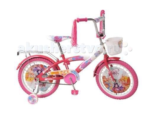 Велосипед двухколесный Navigator Winx 18 T1Winx 18 T1Велосипед Navigator Winx 18 T1 - это хорошо собранный и надёжный велосипед для ребёнка.   Особенности: Тип: детский Материал рамы: сталь Амортизация: отсутствует Конструкция вилки: жесткая Конструкция рулевой колонки: неинтегрированная, резьбовая Диаметр колес: 18 дюймов Материал обода: алюминиевый сплав Двойной обод: нет Материал бортировочного шнура: металл Возможность крепления боковых колес: есть Боковые колеса в комплекте: есть Тип переднего тормоза: отсутствует Тип заднего тормоза: ножной Уровень заднего тормоза: начальный Количество скоростей: 1 Уровень каретки: начальный Конструкция каретки: неинтегрированная Тип посадочной части вала каретки: квадрат Количество звезд в кассете: 1 Количество звезд системы: 1 Конструкция педалей: платформы Конструкция руля: изогнутый Настройка положения руля: регулируемый подъем Комплектация: багажник, крылья Материал рамки седла: сталь Комфорт: защита цепи<br>
